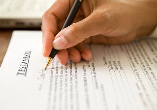 Cuestiones a tener en cuenta a la hora de hacer testamento