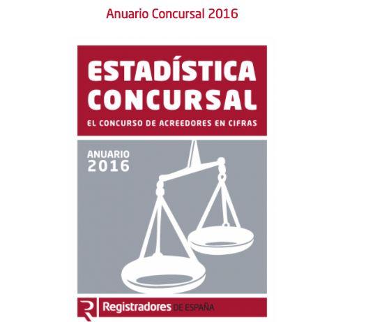 Anuario concursal: el  2016 se cierra con menos empresas concursadas y de menor tamaño